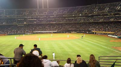 A's vs. Tampa Bay